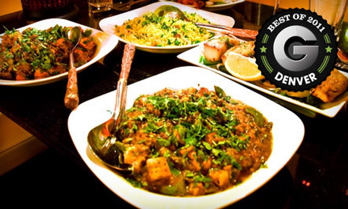 Little India Restaurant - Speer: $10 for $20 Worth of Indian Dinner Fare and Drinks at Little India Restaurant