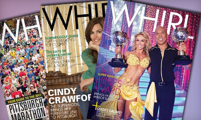 """Whirl Magazine"" - Downtown: $24 for a One-Year Subscription Package to Four Magazines from ""Whirl Magazine"" ($49.95 Value)"