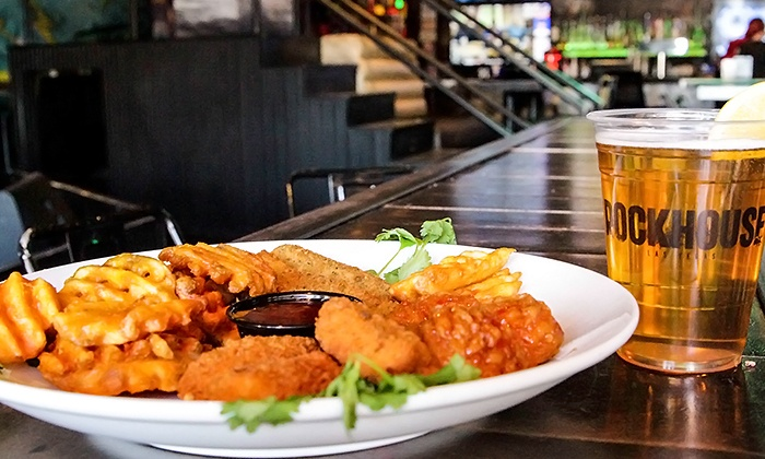 The Rockhouse Las Vegas - The Strip: $39 for All-Day Open-Bar Wristband with Appetizer Sampler at The Rockhouse Las Vegas ($60 Value)