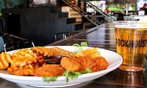 The Rockhouse Las Vegas: $39 for All-Day Open-Bar Wristband with Appetizer Sampler at The Rockhouse Las Vegas ($60 Value)