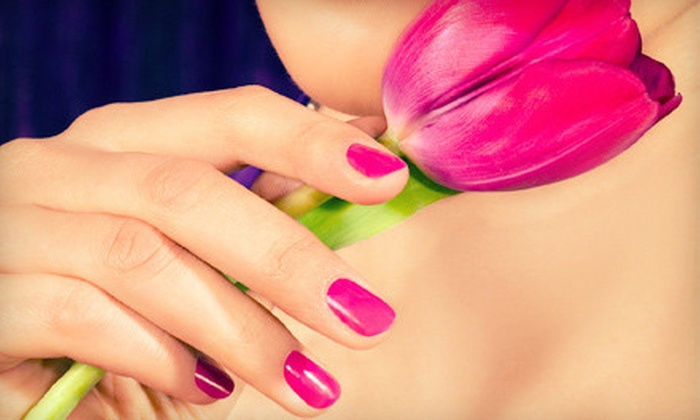 No Chip Manicure Boutique - Ravenswood: $30 for a No-Chip Manicure with Sugar Scrub, Paraffin, and Take-Home Topcoat at No Chip Manicure Boutique ($68 Value)