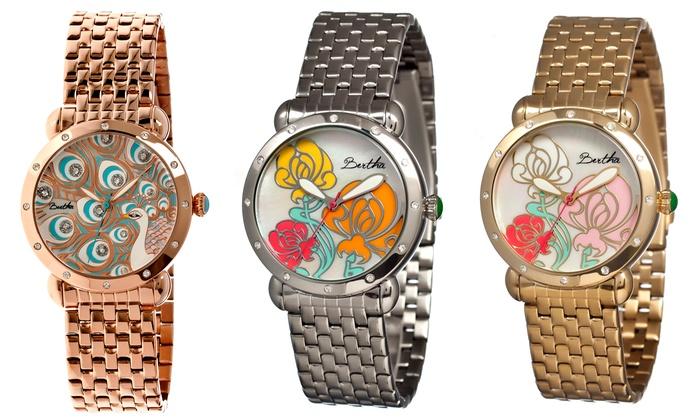 143600f5fc7a Bertha Genevieve and Josephine Watches. Bertha Women s Watches