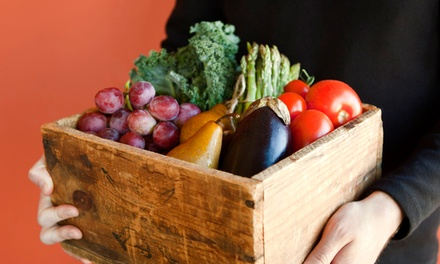 $18 Vegetable and Fruit Box with Delivery from Irv & Shelly's Fresh Picks ($36.50 Value)