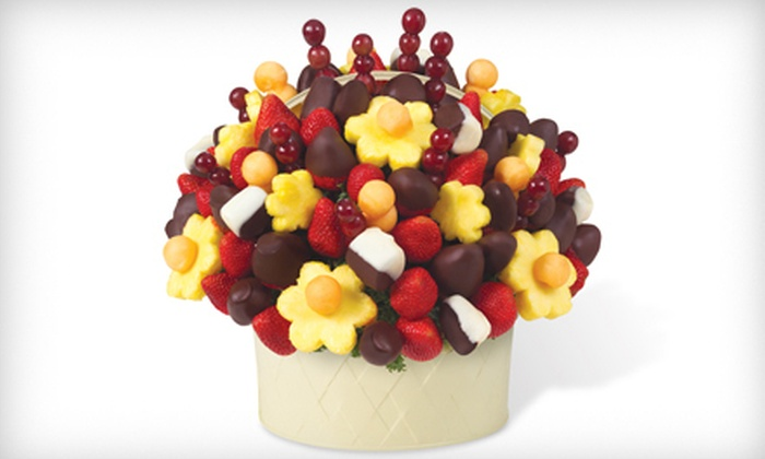 Edible Arrangements - Upper West Side: Chocolate-Dipped Fruit and Edible Bouquets from Edible Arrangements (Half Off). Three Options Available.
