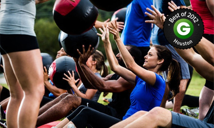 Camp Gladiator - Houston: $69 for Four Weeks of Unlimited Boot-Camp Sessions at Camp Gladiator ($170 Value)