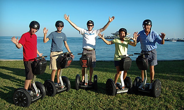 Magic Carpet Glide - Multiple Locations: Two-Hour Segway Tour of Tampa or St. Petersburg from Magic Carpet Glide (54% Off)