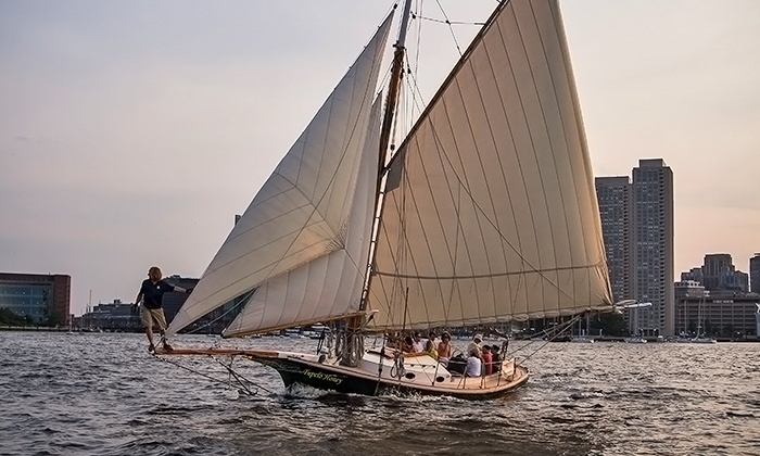 Come Sail Away Now - Fan Pier: Two-Hour BYOB/F Public Traditional Sailing Adventure on Boston Harbor from Come Sail Away Now (Up to 61% Off)