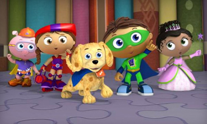 """Super Why - Downtown Knoxville: """"Super Why"""" Children's Show at Tennessee Theatre on Saturday, July 21, at 3:30 p.m. (Up to 56% Off)"""
