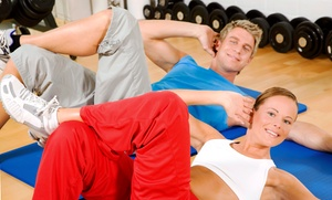 The Big C Athletic Club: Gym Membership and Personal Training for One or Two at The Big C Athletic Club (Up to 79% Off)