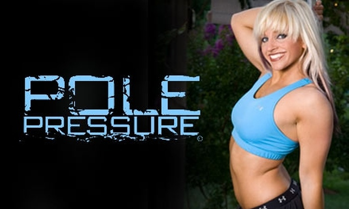 Pole Pressure - Multiple Locations: $50 for Five Pole-Dancing Classes at Pole Pressure ($100 Value)