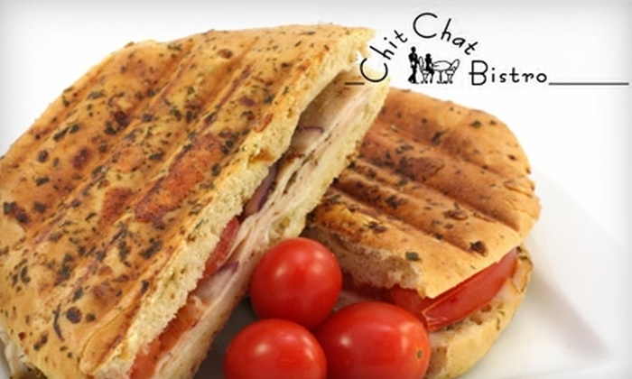 Chit Chat Bistro - Candlelight: $9 for $20 Worth of Mediterranean Fare at Chit Chat Bistro in Arvada