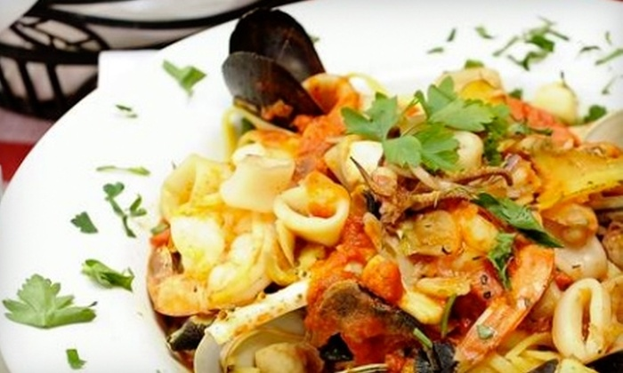 F&J Pine Restaurant - Van Nest: $20 for $40 Worth of Italian Fare and Drinks at F&J Pine Restaurant in the Bronx