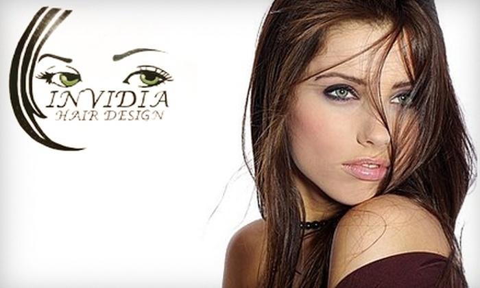 Invidia Hair Design - Brookland: $20 for $45 Worth of Salon and Spa Services at Invidia Hair Design