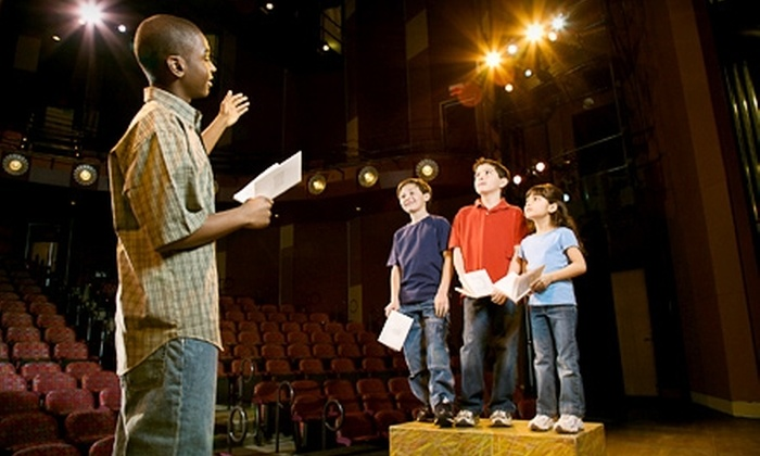 Community Theatre of Greensboro - Downtown: $99 for One Week of Kids' Summer Theater Camp at the Community Theatre of Greensboro (Up to $200 Value)