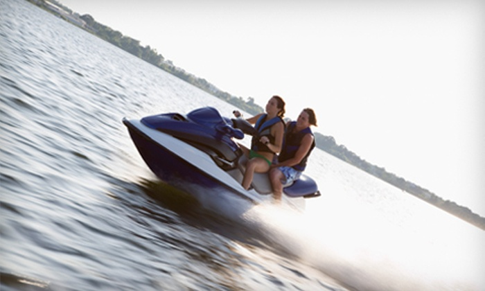 Vacation Sports Rentals - Downtown: $159 for $350 Worth of Speedboat, Pontoon, or Sea-Doo Rentals at Vacation Sports Rentals in Coeur d'Alene, ID