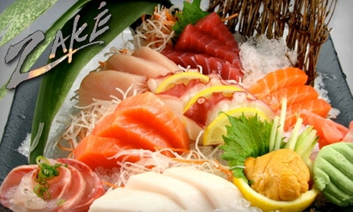 Zake Sushi Lounge - Greenway/ Upper Kirby: $15 for $30 Worth of Asian-Fusion Cuisine at Zake Sushi Lounge