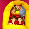 $6 for Supervised Play and Pizza at Monkey Joe's