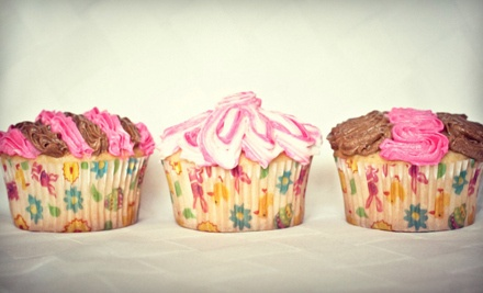 2 Dozen Vanilla and Chocolate Cupcakes (a $24 value) - Cherie's Cake Boutique in Columbia