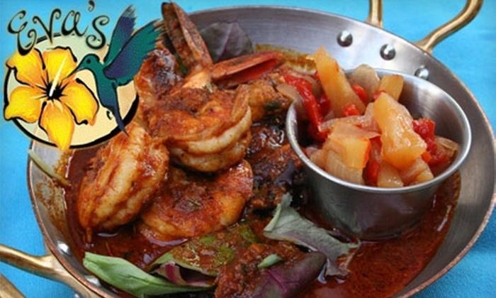 Eva's Caribbean Kitchen - Laguna Beach: $30 for $60 Worth of Traditional Island Fare at Eva's Caribbean Kitchen