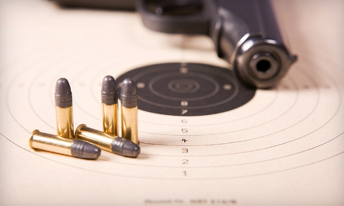 H&H Shooting Sports Complex - Central Oklahoma City: One or Punch Card for Five Shooting-Range Outings with Gun and Lane Rental at H&H Shooting Sports Complex (Half Off)