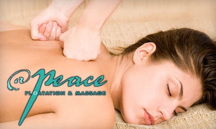 At Peace Floatation and Massage - Colleyville: $45 for a 75-Minute Massage at At Peace Floatation and Massage in Colleyville
