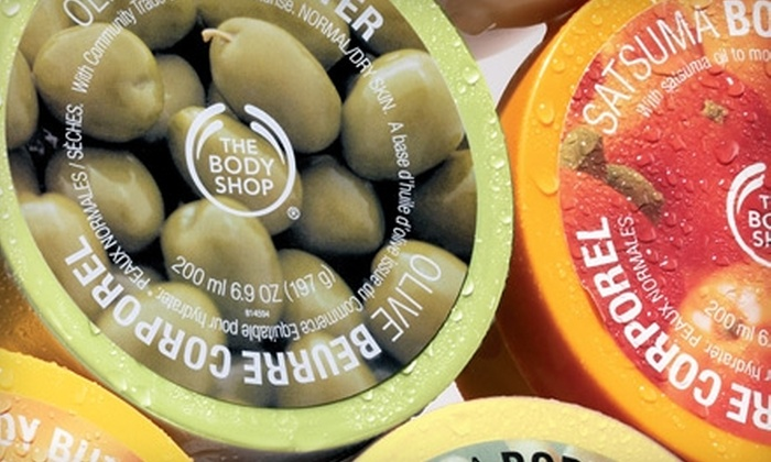 The Body Shop - Multiple Locations: $20 for $40 Worth of Natural Skin Care, Bath and Beauty Products at The Body Shop