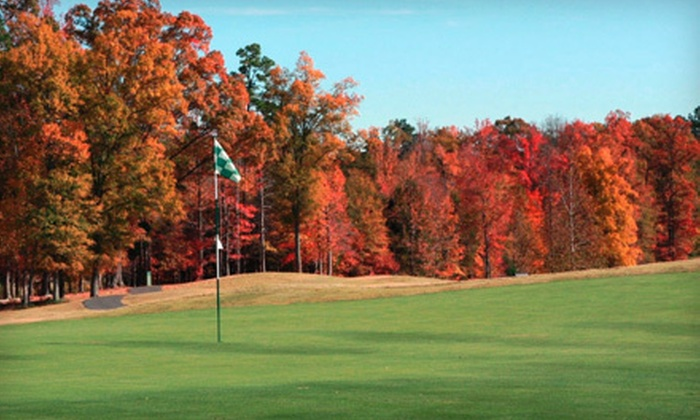 The Tradition Golf Club - Prosperity Church Road: Three Golf Lessons, Two Rounds of Golf, and Range Credit for One or Two at The Tradition Golf Club (Up to 72% Off)