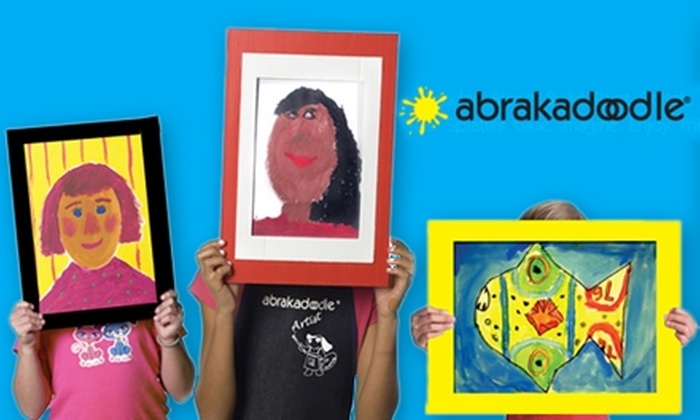 Abrakadoodle of Montgomery - Multiple Locations: $20 for $40 Worth of Art Classes and Birthday Bashes at Abrakadoodle