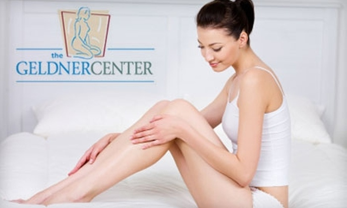 The Geldner Center - Near North Side: $150 for Six Laser Hair-Removal Treatments at The Geldner Center ($660 Value)
