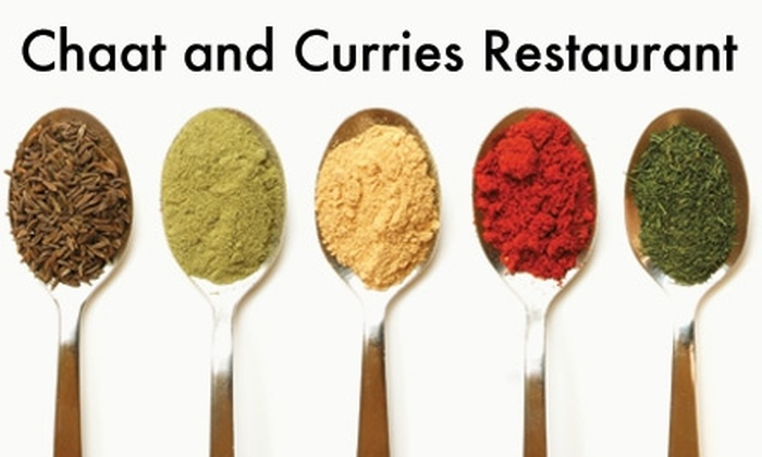Chaat and curries - Southwst Berkeley: $5 for $10 Worth of Indian Cuisine at Chaat and Curries