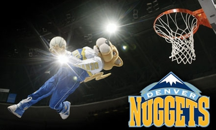 Denver Nuggets - Denver: One Upper-Level or Lower-Level Ticket, Plus T-shirt, to a Denver Nuggets Game. Two Games Available.