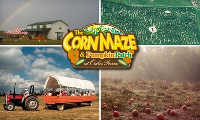 Oakes Farm - 8: $10 for Two General-Admission Tickets to the Corn Maze and Pumpkin Patch at Oakes Farm (Up to $25 Value)