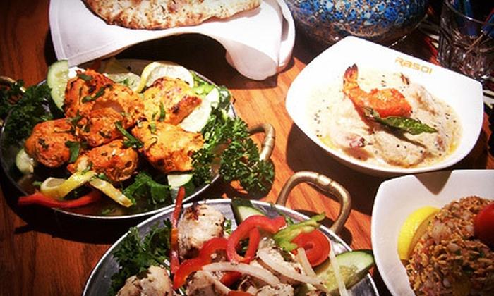 Rasoi Indian Kitchen - Dupont Circle: $15 for $30 Worth of Indian Fare at Rasoi Indian Kitchen