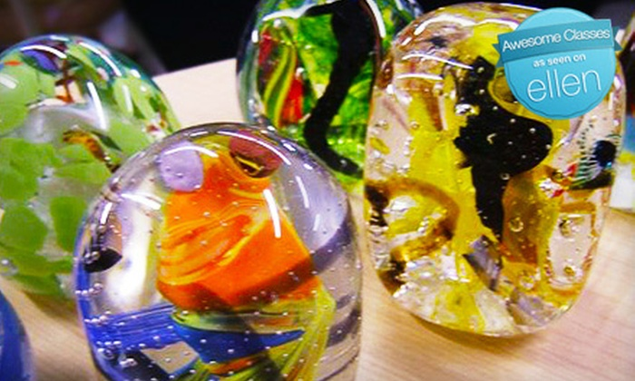 Sonoran Glass Art Academy - Barrio Viejo: $149 for Make-Your-Own-Paperweight Glass-Blowing Class for Two at Sonoran Glass Art Academy ($280 Value)