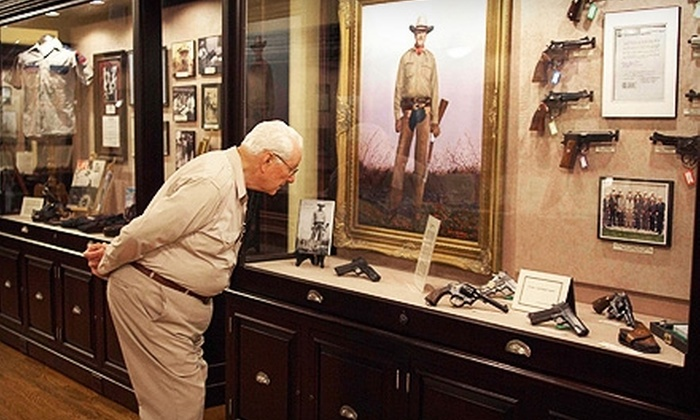 Buckhorn Museum & Saloon and Texas Ranger Museum - Downtown: $15 for Two Tickets to the Buckhorn Museum & Saloon and Texas Ranger Museum (Up to $35.98 Value)