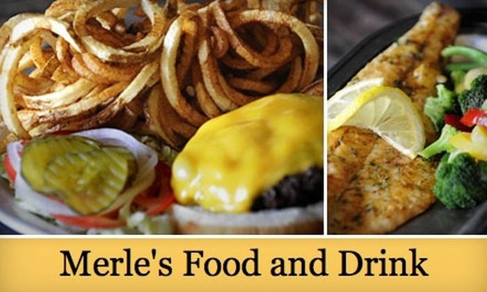 Merle's - Lincoln: $10 for $20 Worth of American Cuisine and Drinks at Merle's