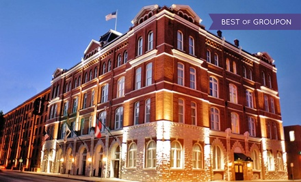 groupon daily deal - Stay at Inn at Ellis Square in Savannah, GA, with Dates into July (Excluding April)