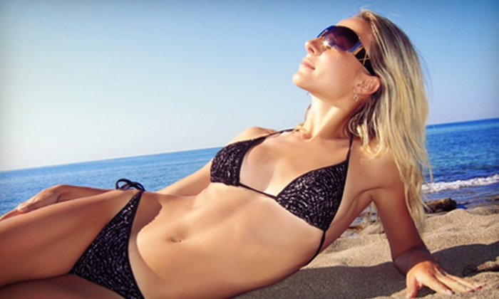 Envy Glow Custom Airbrush Tanning - Salon and Spa Galleria: One, Two, or Three Airbrush Tans with Exfoliating Spray at Envy Glow Custom Airbrush Tanning (Up to 64% Off)
