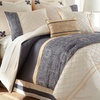 8-Piece Embroidered Quilted Comforter Sets