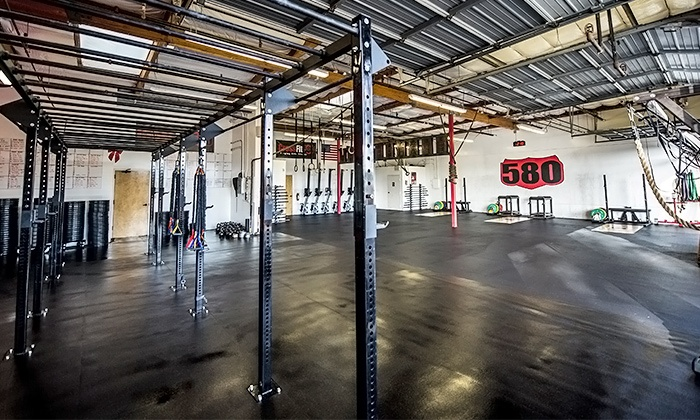CrossFit 580 - CrossFit 580: Six-Week Boot Camp for One or Two at CrossFit 580 (Up to 69% Off)