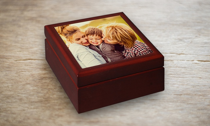 York Photo: $14.99 for Personalized Keepsake Box from York Photo ($29.99 Value)