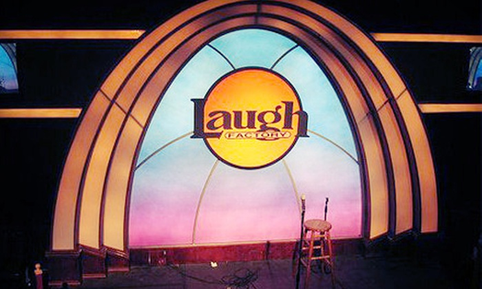 Laugh Factory - Long Beach: Two or Four Tickets to a Comedy Show at Laugh Factory in Long Beach (Up to 53% Off)