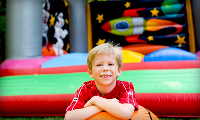 Kidzz Star Jumpers - North Fair Oaks: One- or Two-Day Bounce House Rental or $200 Towards Party Supply Rentals from Kidzz Star Jumpers (Up to 53% Off)