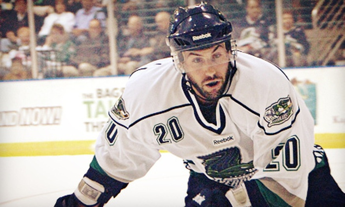 Florida Everblades - Germain Arena: Florida Everblades Game Package for Two at Germain Arena on December 21 or 22 (Up to 46% Off). Six Options Available.