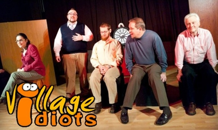 Village Idiots Improv Comedy - Atlantic-University: $45 for 12-Hour Beginner's Improv Class at Village Idiots Improv Comedy