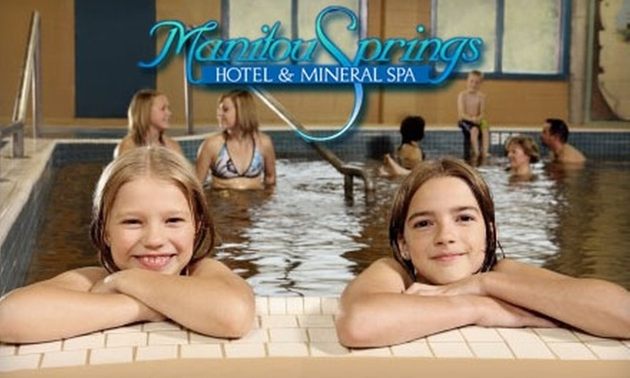 Manitou Springs Mineral Spa - Manitou Beach: $15 for Two Adult All Day Swim Passes at Manitou Springs Mineral Spa