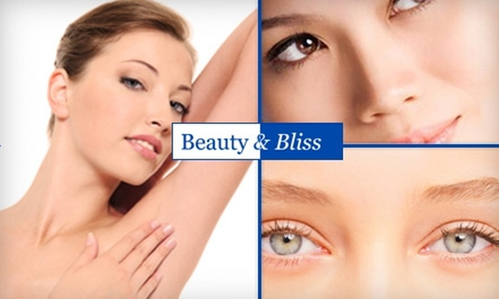 Beauty & Bliss Skin and Laser Center - Coolidge Corner: $99 for Three Laser Hair-Removal Sessions at Beauty & Bliss Skin and Laser Center (Up to $975 Value)