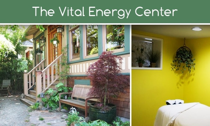 The Vital Energy Center - Montlake: $35 Massage at The Vital Energy Center ($80 Value)