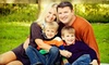 Capture Everything Photography - Hillsborough: $75 for an Indoor or Outdoor Family-Photo Session from Capture Everything Photography ($390 Value)
