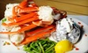 52% Off Seafood at The Lazy Chameleon in Powell